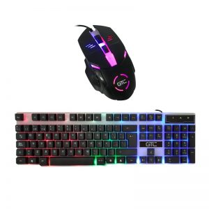 Kit Gamer Teclado & Mouse Gaming – Gtc Cbg-015