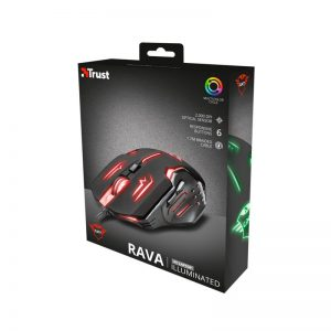 Mouse Gamer Trust GXT 108 Rava Illuminated