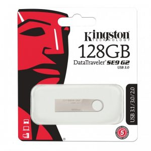 Kingston Pendrive 128GB - Data Traveler SE9 G2