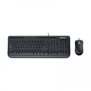 Kit Microsoft Teclado + Mouse - Wired 600