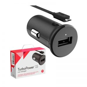 Cargador de Auto Motorola - Turbo Power 15