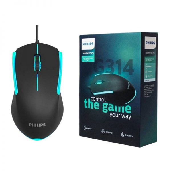Mouse Gamer Philips G314